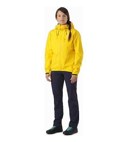 Alpha SL Jacket Women's Golden Poppy Vorderansicht