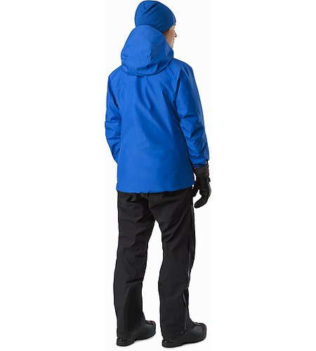 Alpha SV Jacket Women's Somerset Blue Back View