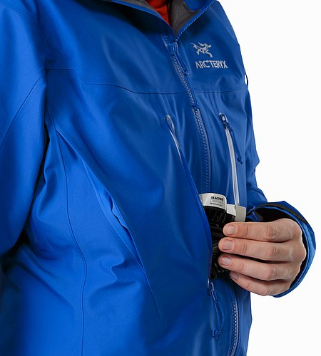 Alpha SV Jacket Women's Somerset Blue Chest Pocket
