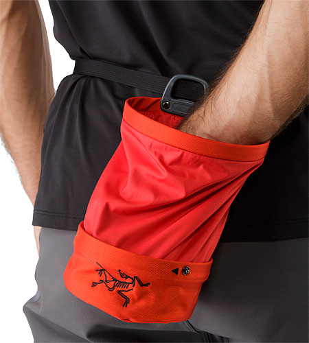Aperture Chalk Bag Large Magma Adjustable Waist Belt