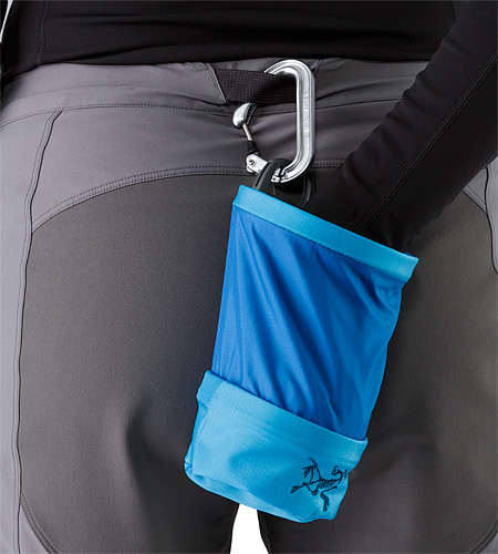 Aperture Chalk Bag Small Vultee Blue Belt Attachment