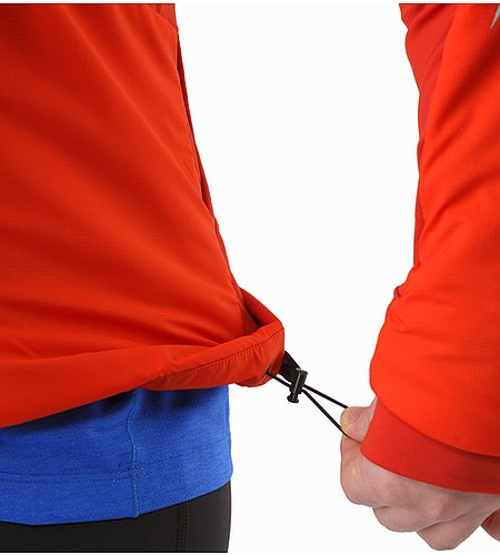 Argus Jacket Cardinal Hem Adjuster