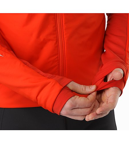 Argus Jacket Cardinal Thumb Loop