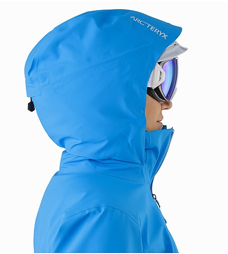 Astryl Jacket Women's Baja Helmet Compatible Hood Side View