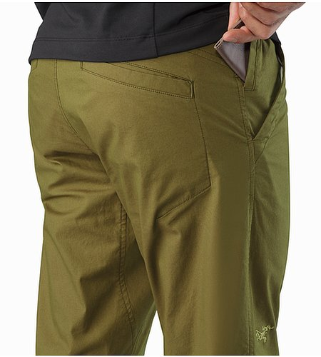 Atlin Chino Pant Roman Pine External Pockets