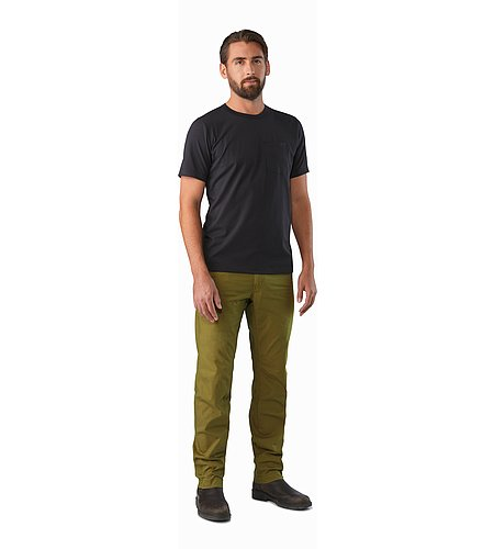 Atlin Chino Pant Roman Pine Front View