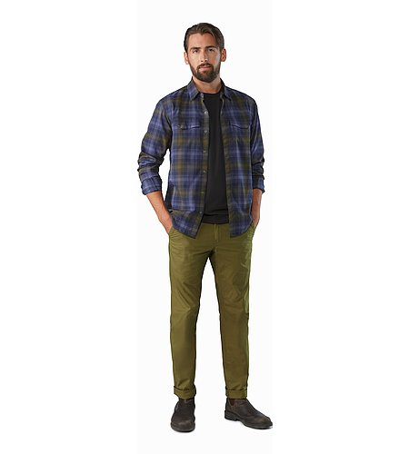 Atlin Chino Pant Roman Pine Outfit