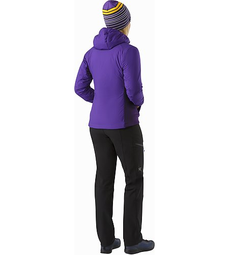 Atom LT Hoody Women's Azalea Back View