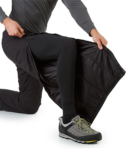Atom LT Pant Black Side Zipper