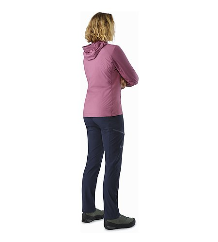 Atom SL Hoody Women's Amaranth Back View