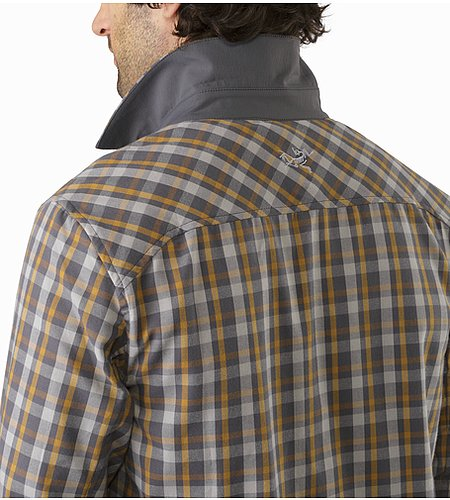 Bernal Shirt LS Centaur Pilot Back Collar