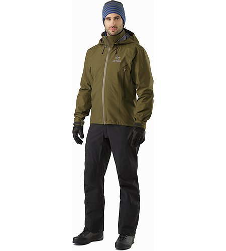 Beta AR Jacket Dark Moss Front View