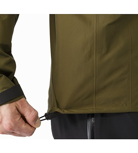 Beta AR Jacket Dark Moss Hem Adjuster