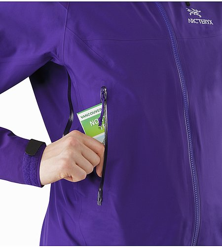 Beta AR Jacket Women's Azalea Hand Pocket