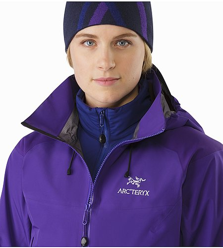 Beta AR Jacket Women's Azalea Open Collar