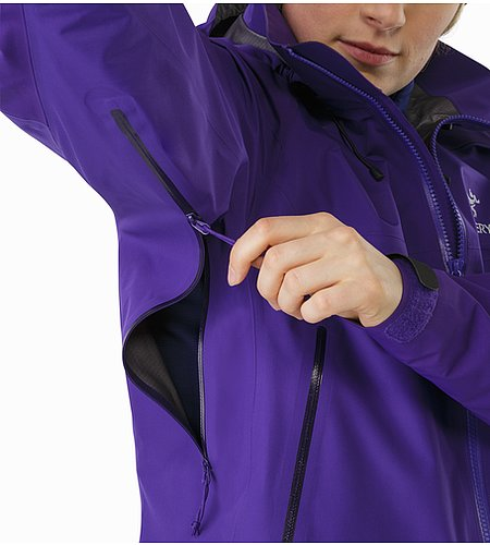 Beta AR Jacket Women's Azalea Pit Zip 2
