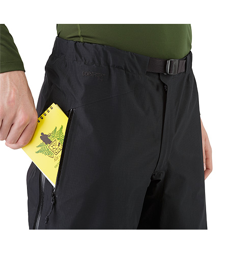 Beta AR Pant Black Hand Pocket