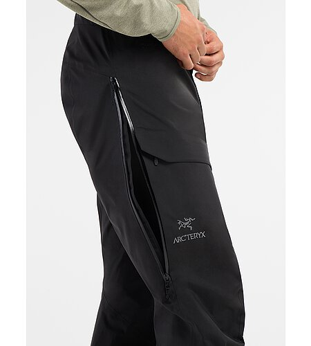 Beta AR Pantalon Black Fente d'aération latérale
