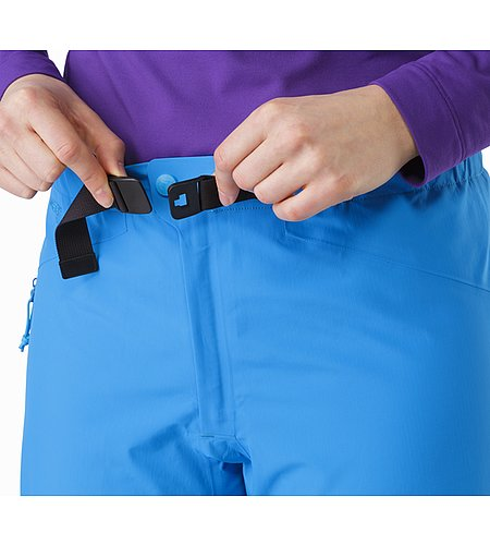 Beta AR Pant Women's Cedros Blue Waistband 2