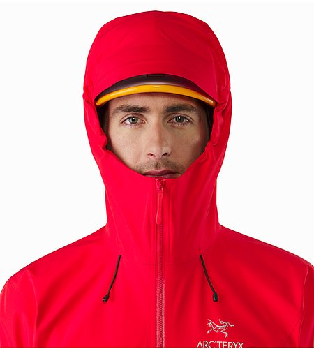 Beta LT Jacket Matador Helmet Compatible Hood Front View