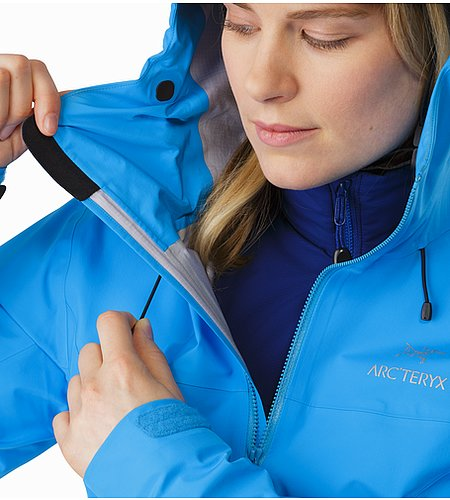 Beta LT Jacket Women's Baja Cohaesive™ Hood Adjuster 2