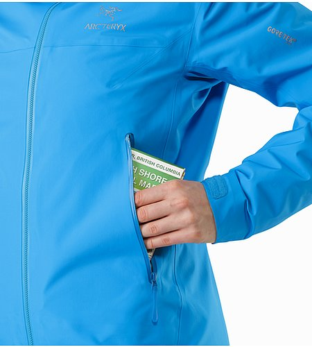 Beta LT Jacket Women's Baja Hand Pocket 2