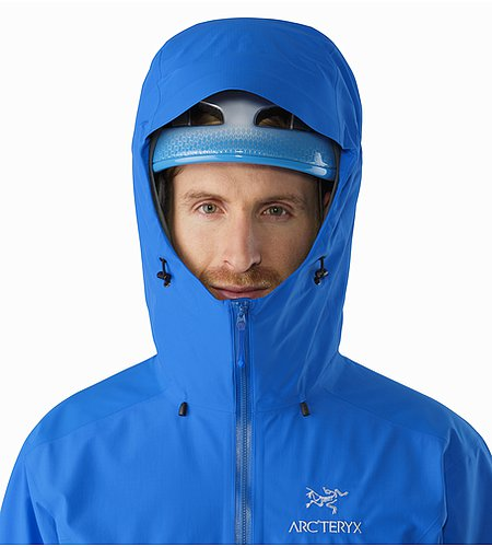 Beta SL Hybrid Jacket Rigel Helmet Compatible Hood Front View