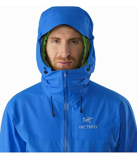 Beta SL Hybrid Jacket Rigel Hood Front View