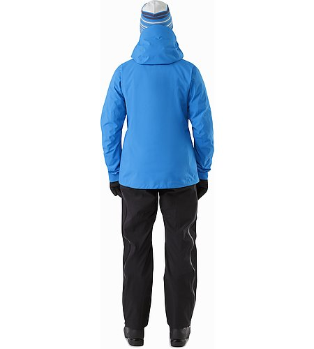 Beta SV Jacket Women's Cedros Blue Back View 2