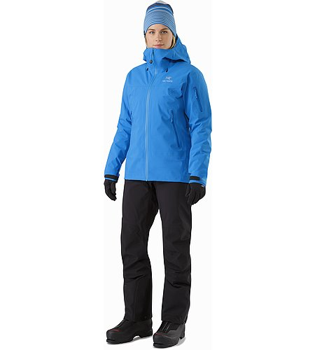 Beta SV Jacket Women's Cedros Blue Front View 2