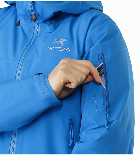 Beta SV Jacket Women's Cedros Blue Sleeve Pocket 2