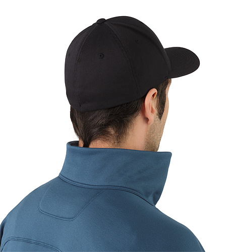Bird Cap Black Back View