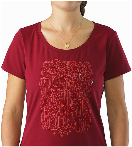 womens brown t shirt