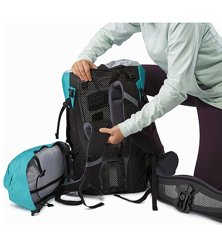 Bora AR 49 Backpack Women's Castaway Adjustable Shoulder Straps