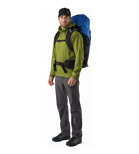 Bora AR 50 Backpack Borneo Blue Front View