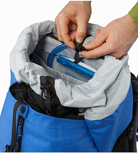 Bora AR 50 Backpack Borneo Blue Hydration Pocket