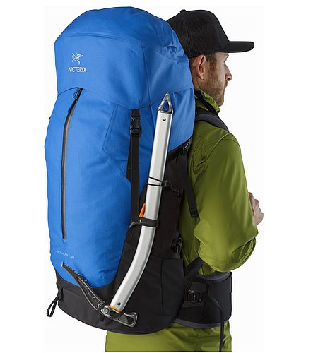 Bora AR 50 Backpack Borneo Blue Ice Axe Carry
