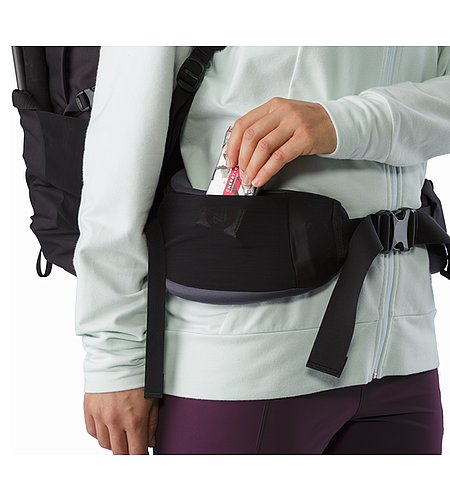 Bora AR 61 Backpack Women's Winter Iris Hipbelt Stash Pocket