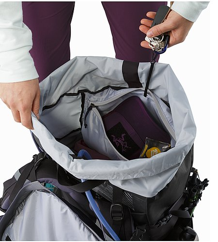Bora AR 61 Backpack Women's Winter Iris Internal Security Pocket