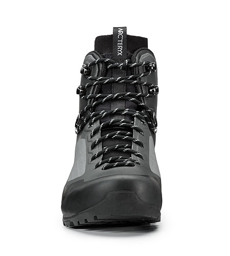 Bora Mid GTX Hiking Boot Graphite Black Front View