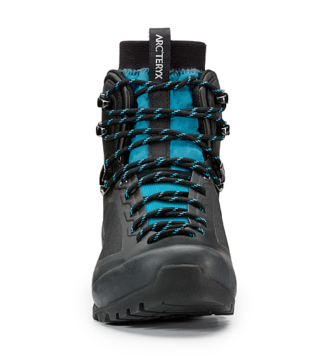 Bora Mid GTX Hiking Boot Women's Black Mid Seaspray Front View