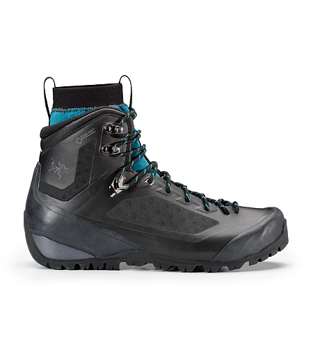 Bora Mid GTX Hiking Boot Women's Black Mid Seaspray Side View
