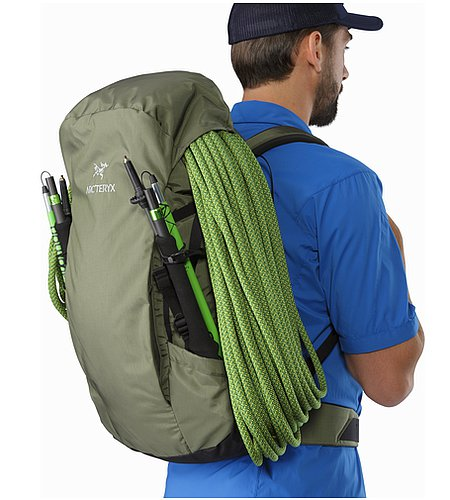 Brize 32 Backpack Joshua Tree Seil unter Deckelfach