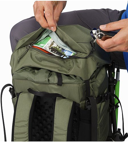 Brize 32 Backpack Joshua Tree Oberes Deckelfach