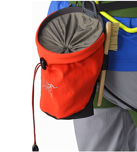 C80 Chalk Bag Magma Top Closure