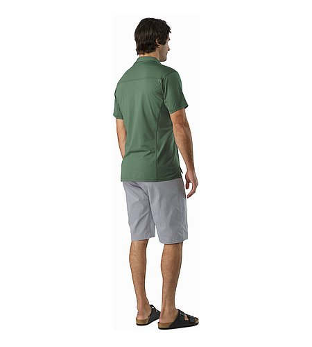 Captive Polo Shirt SS Cypress Back View