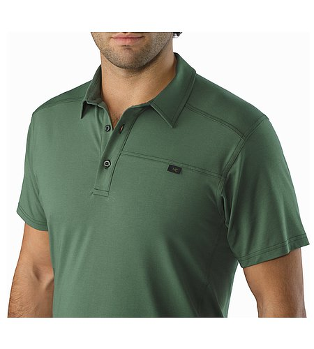 Captive Polo Shirt SS Cypress Collar