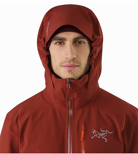 Cassiar Jacket Pompeii Hood Front View