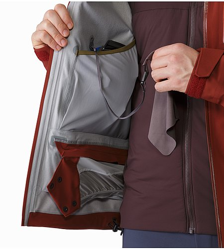 Cassiar Jacket Pompeii Internal Dump Pocket
