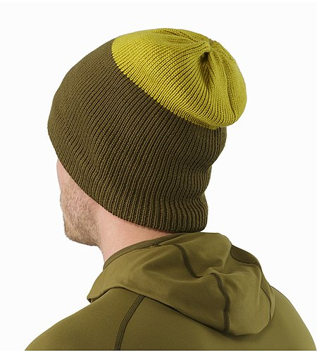Castlegar Toque Dark Moss Woad Back View
